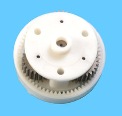 چین Plastic injection mold with PA66 material, the parts is gear motor تامین کننده